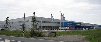 Delticom - Reifendirekt warehouse in Höver near Hanover