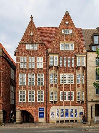 Atlantis House - Atlantis House on Bremen's Böttcherstraße