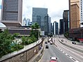 HK 中環 Central 天橋 footbridge 夏慤道 Harcourt Road August nearby 怡和大廈 Hutchison House August 2019 SSG 16.jpg