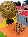 HK CWB 香港中央圖書館 HKCL 聯校科學展覽 Joint School Science Exhibition JSSE 分子建模 Molecular model Aug 2018 SSG 地球儀 Globe.jpg