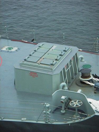 HMAS Sydney VLS