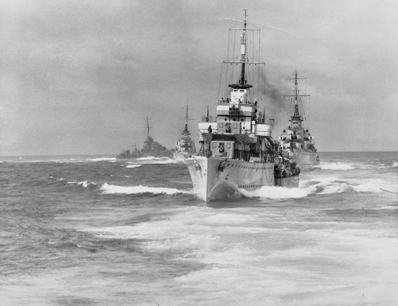 HMS Fury flotilla