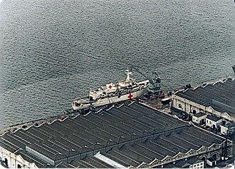 Hecla-class survey vessel - Image: HMS Hecla 1982 Gibraltar
