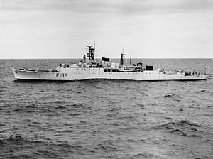 HMS Relentless (F185) Type 15 conversion