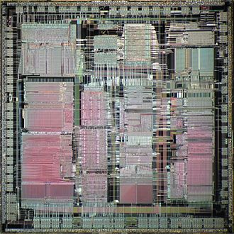PA-7100LC - Die shot of PA-7100LC.