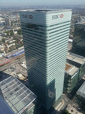 Canada Square - Image: HSBC Building London