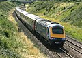 HST goes west at Thingley - geograph.org.uk - 879148.jpg