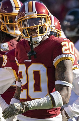 Ha Ha Clinton-Dix - Clinton-Dix with the Washington Redskins in 2018