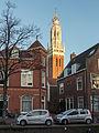 Haarlem, de toren van de Bakenesserkerk RM19811 met de Spaarne op de voorgrond foto3 2015-01-04 15.57.jpg