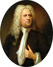 Portrait de G. F. Haendel (1733)