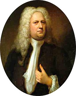 George Frideric Handel in 1733, by Balthasar Denner