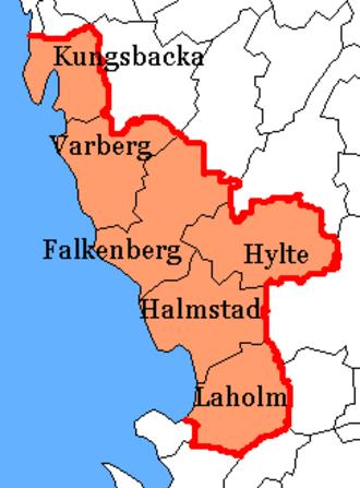 Halland County - Image: Halland County