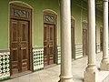 Hallway of Piramal Haveli heritage hotel, Shekhawati, Rajasthan.jpg
