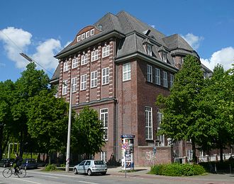 University of Fine Arts of Hamburg - Main building