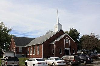 Hamilton, Missouri - Image: Hamilton Baptist