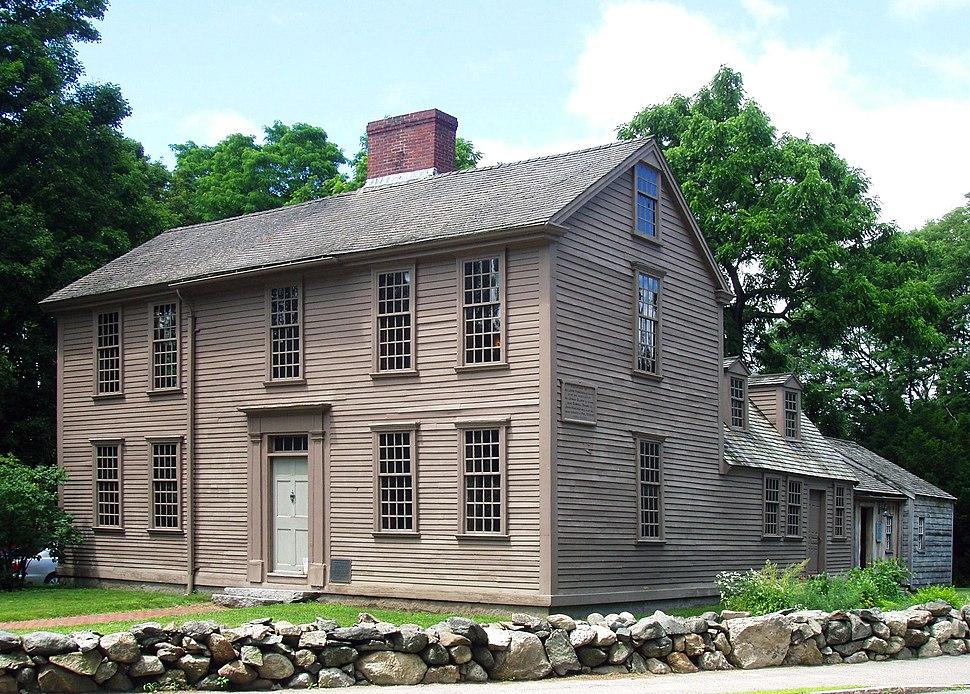 Hancock-Clarke House Lexington Massachusetts