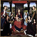 Hans Memling - The Donne Triptych (centre panel) - WGA14887.jpg