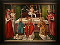 Hans baldung, messa di san gregorio, strasburgo, 1511.jpg