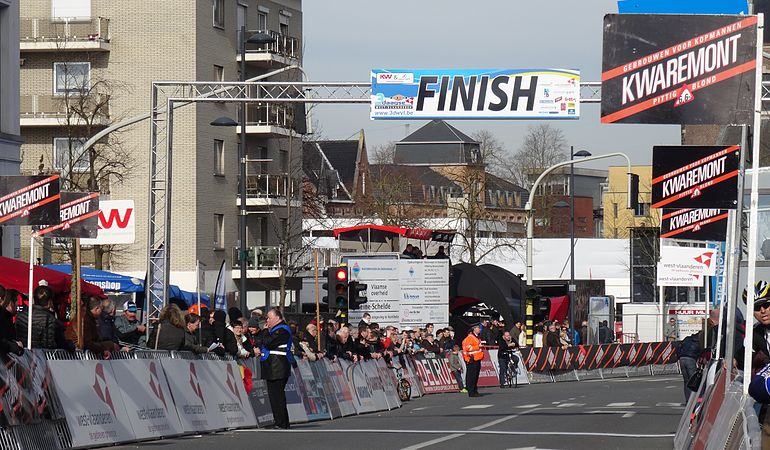 Harelbeke - Driedaagse van West-Vlaanderen, etappe 1, 7 maart 2015, aankomst (A03).JPG