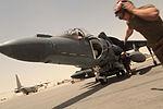 Harrier squadron flightline operations in Afghanistan 110606-M-UB212-001.jpg