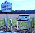 Harriet Tubman Marker for proposed National Park Building, Dorchester County MD.jpg