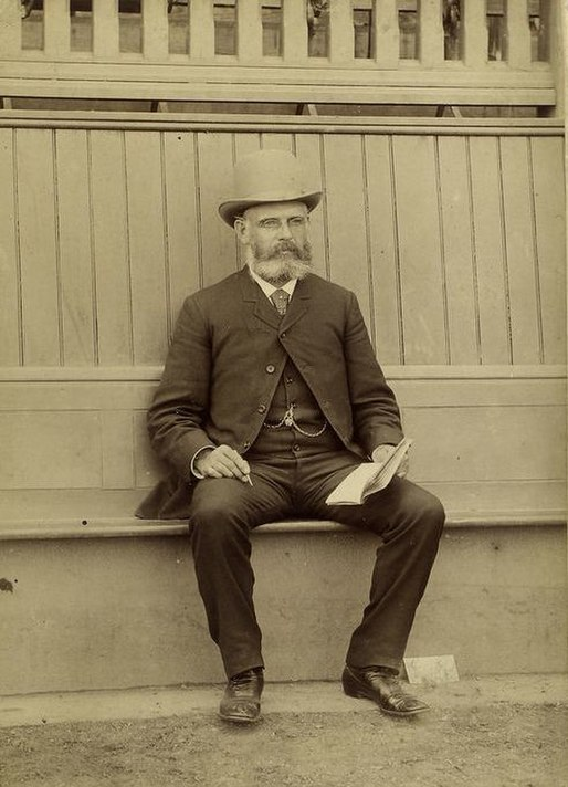 Harry Wright Seated