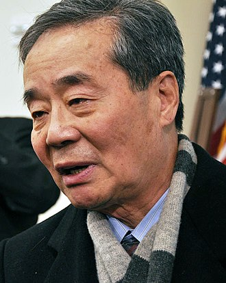 Harry Wu - Wu during a press conference at Washington D.C. in January 2011
