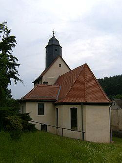 Church in Hartmannsdorf