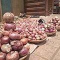 Hausa alubasa, alubosa, onion bulbs itoku market onion merchant 01.jpg