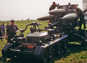 MIM-23 Hawk - A Hawk system in service with the German Air Force before it was phased out