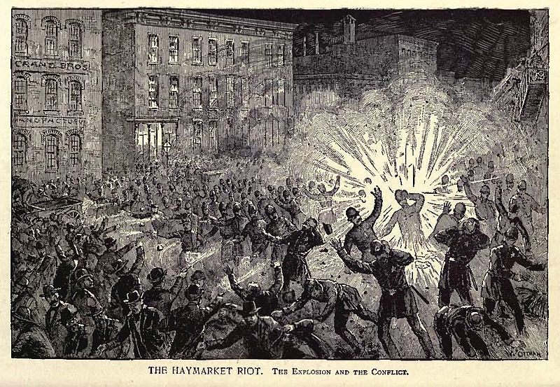 the haymarket affair Picture 2: chicago historic society, haymarket affair digital collection the dramas of haymarket the haymarket squareriot trial: a headline court case.