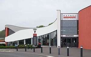 Haynes International Motor Museum - Main building of the Haynes International Motor Museum