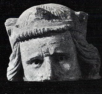 Haakon V of Norway - Head from the Nidaros Cathedral, considered to possibly represent an older Haakon.