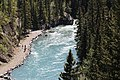 Heading upstream on the Kananaskis river Alberta Canada (26275131213).jpg
