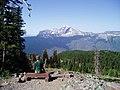 Heavens Peak from Granite Park Chalet, July 26, 2007 - panoramio.jpg