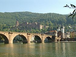 "Heidelberg Castle and the ""Old Bridge"""