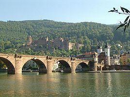 "Heidelberg Castle and the ""Old Bridge"""