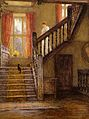 Helen Allingham - The Staircase, Whittington Court, Gloucestershire.jpg