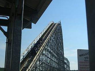 Hell Cat (roller coaster) - Image: Hell Cat 2