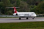 Helvetic Airways, HB-JVF, Fokker F100, 2017-04-22@LUX-107.jpg