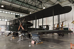 NIVO - NIVO-finished Vickers Vimy ''F8614'' at the RAF Museum London