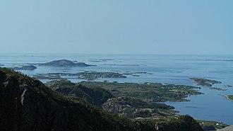 Strandflat - Strandflat at Herøy, northern Norway