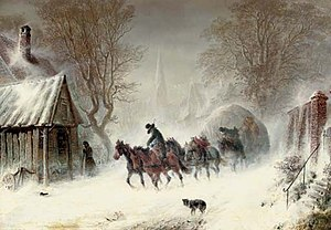 Hermann Kauffmann - Enduring the snowstorm.jpg