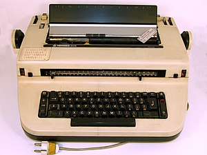 Hermes typewriter model 808