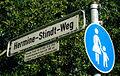 Hermine-Stindt-Weg, Hannover, Hermine Stindt 05.01.1888-10.02.1974, Freistilschwimmerin beim HSV 1892 mit Erfolgen in der deutschen Schwimmstaffel.jpg