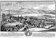 Lucerna nel 1758.
