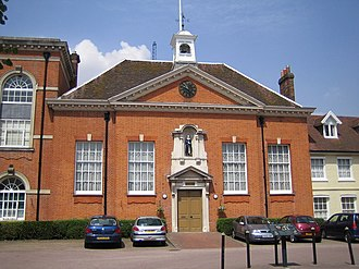 The former Christ's Hospital in Hertford Hertford, The former Christ's Hospital - geograph.org.uk - 208141.jpg