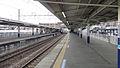 Higashi-Matsuyama Station platform 2 south end 20120216.JPG
