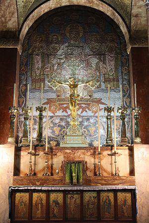 St Bartholomew's Church, Brighton - High altar