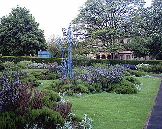 High Hazels Park - The sensory garden.